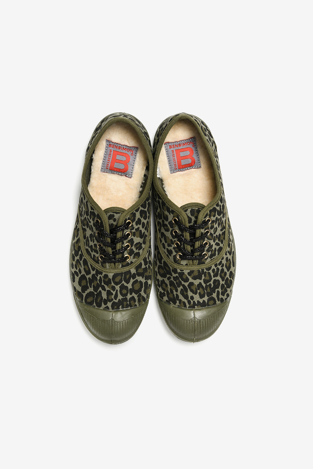 [Woman Lacet Limited Panther] Khaki BS9FSO116KH